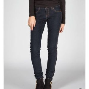 Volcom Volstone Dark Wash Legging Fit Jeans